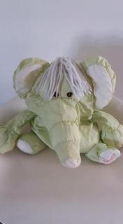 Muñeco Elefante Plumita Lavable Y Blandito