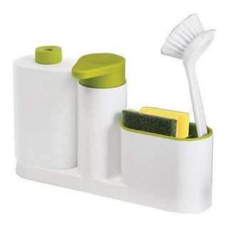 Organizador De Cocina Dispenser Detergente Porta Esponja