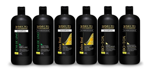 Kit Hidratacion Shampoo + Acondicionador Inecto Professional