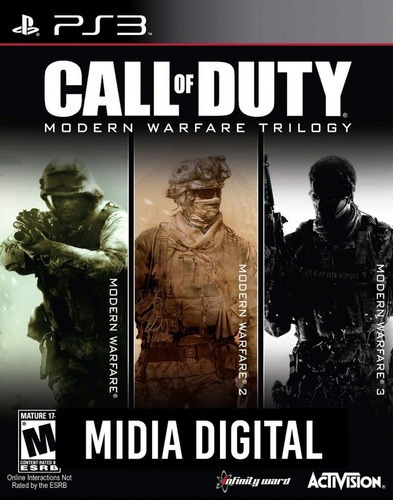 Call Of Duty Modern Warfare Trilogia - Ps3 Psn*