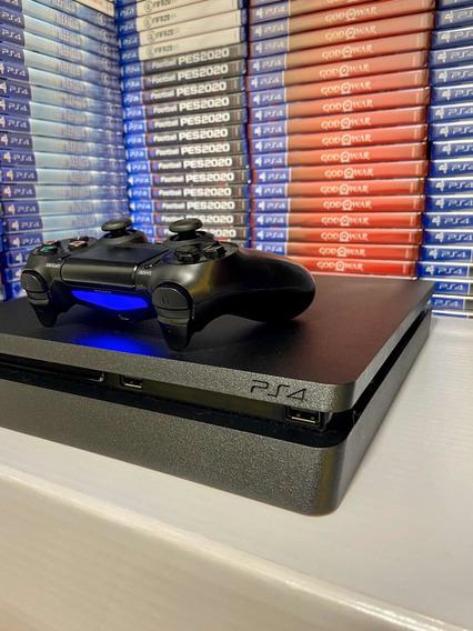 Playstation 4 Ps4 Slim 500 Gb Frete Grátis C/ 2 Jogos