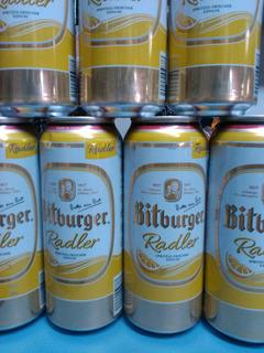Cerveza Bitburger Radler Importada Alemania ,caballito Norte