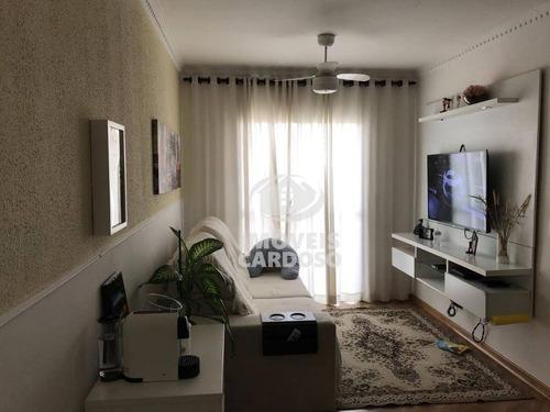 Imagem 1 de 23 de Apartamento Com 3 Dormitórios À Venda, 69 M² Por R$ 350.000 - Vila Dos Remédios - São Paulo/sp - Ap0313