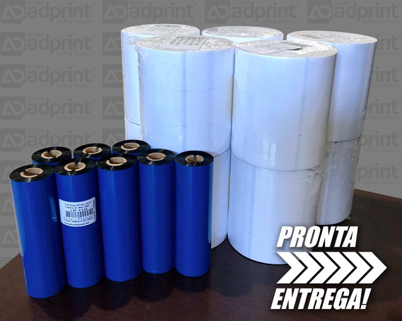 Kit 10 Rolos De Composição C/ 8 Ribbon Cera