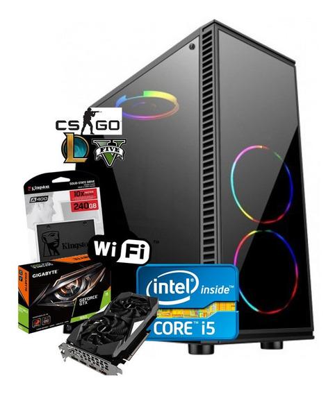 Pc Gamer Intel Core I5 3ª + 16gb + Ssd 240gb + Gtx 1650ti 4g