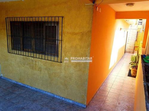 Sobrado Com 2 Dormitórios À Venda, 170 M² Por R$ 345.000,00 - Vila Progresso (zona Sul) - São Paulo/sp - So2574