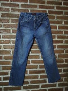Pantalón De Mezclilla Lee Talle Medio Mujer