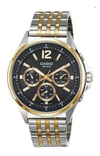 Relógio Masculino Casio Mtp-e303sg-1avdf Misto