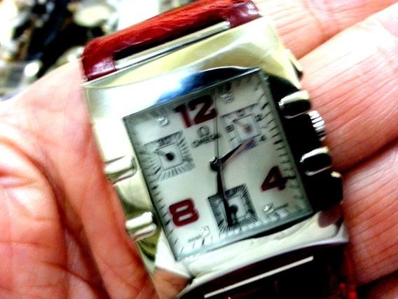 Relógio Omega Constellation Chronograph A Quartz Quadrado