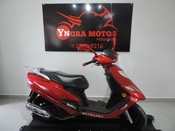 Suzuki Burgman 125i 2014 Nova