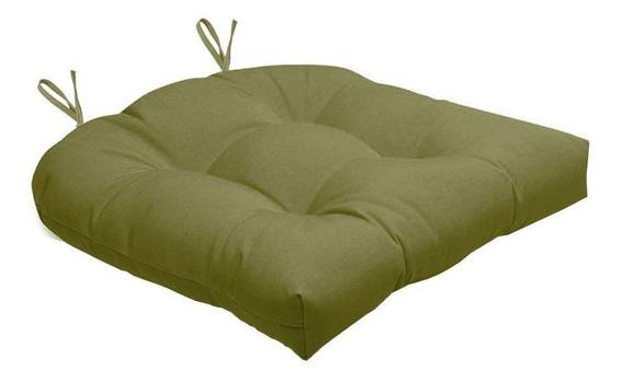 Assento Para Cadeira Futton Solid Liso 40x40cm - Ecaza