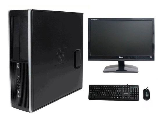 Computador Hp 8200 I7 8gb 120ssd Monitor 19 Polegadas