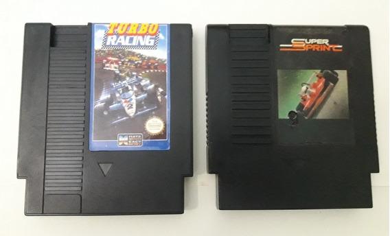 Al Unser Jr. Turbo-racing + Super Sprint Para Nes