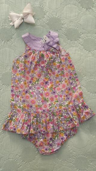 Vestido Baby R Us Floral *envio Gratis* Nuevo Original