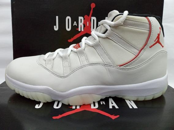 Tenis De Basquetbol Air Jordan 11 Retro Platinum Tint