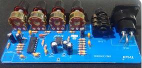 Pré-amplificador De Áudio Balanceado Montado