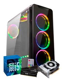 Pc Gamer Fortnite Intel I5 7400 (gtx 1050ti 4gb) 8gb Ddr4
