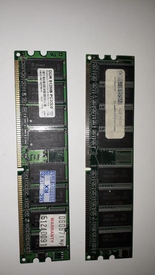 Memoria Ram Para Pc De 1gb E 512 Mb