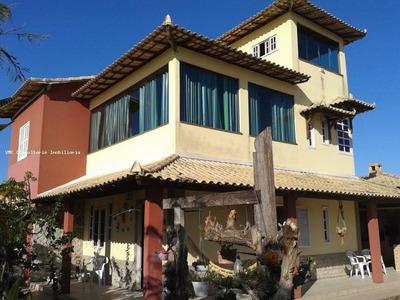 Casa Para Venda Em Arraial Do Cabo, Novo Arraial, 5 Dormitórios, 4 Suítes, 6 Banheiros, 3 Vagas - Iv0016