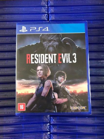 Resident Evil 3 Remeke, Novos Lacrados, Envio Imediato !!