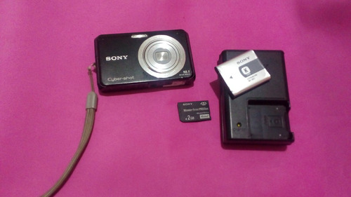Imagem 1 de 4 de Camera Fotografica Sony Usada