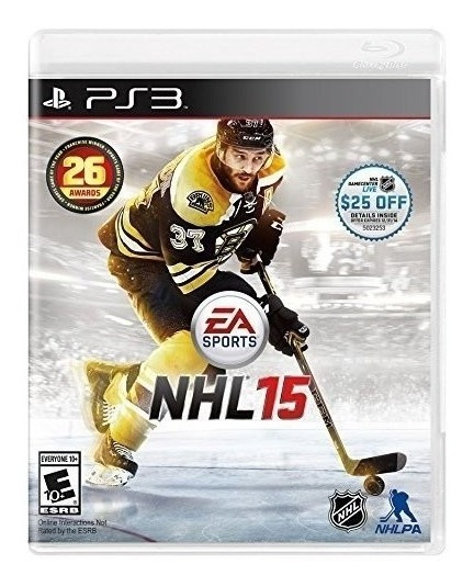 Jogo Novo Lacrado Ea Sports Nhl 15 Para Playstation 3 Ps3