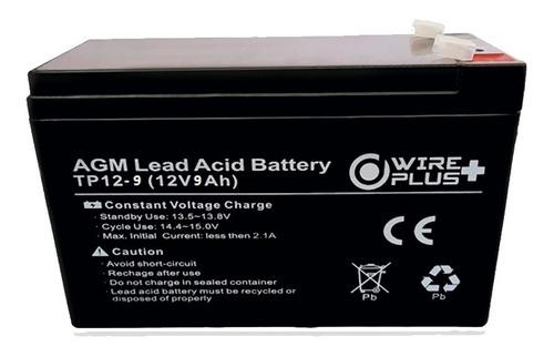 Imagen 1 de 2 de Bateria 12v 9ah Para Ups Pila 9amp Cerco Electrico 12v 9a