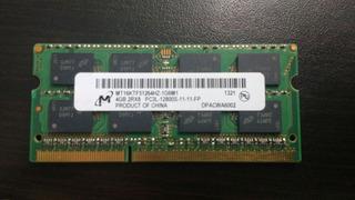 Memoria Samsung Ddr3 Laptop 4gb Bus 12800s