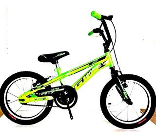 Bicileta Bmx Gw Rin 20 Lighting Acero / Niño Y Niña