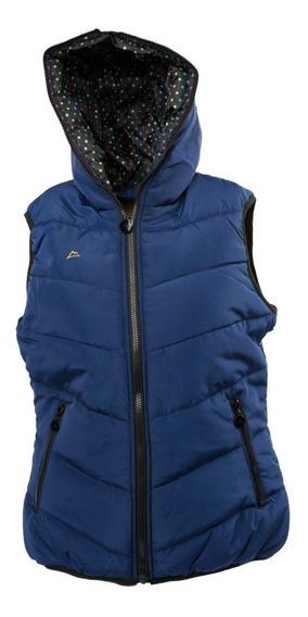 Chaleco Icy Denver Dama Wve003-3 Azul