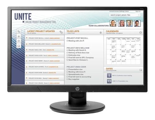 Monitor Hp V214a 20.7  Hdmi Vga Full Hd 1080p Parlante 60hz