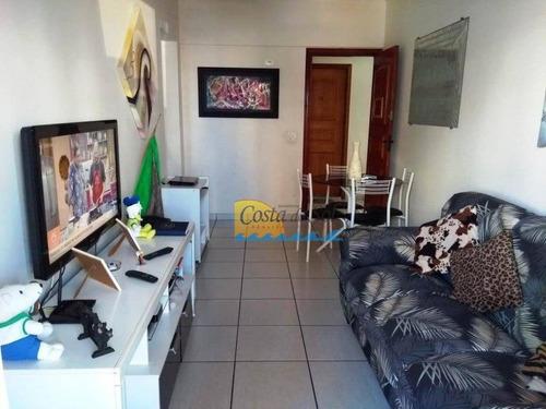 Imagem 1 de 17 de Apartamento Com 1 Dormitório À Venda, 63 M² Por R$ 180.000,00 - Aviação - Praia Grande/sp - Ap14871