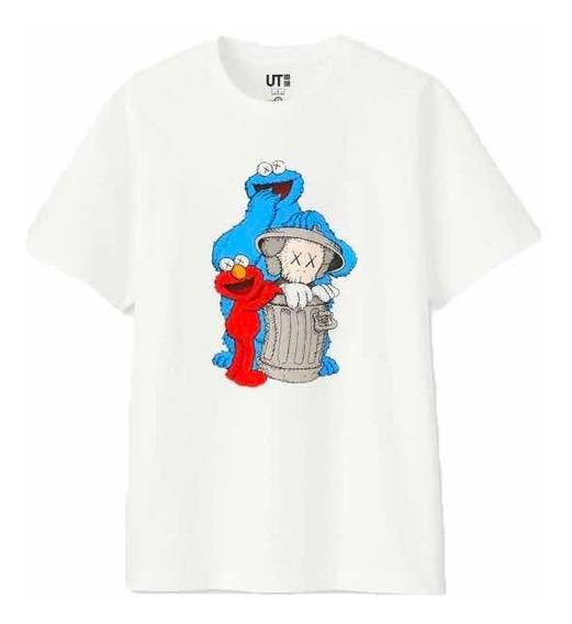 Playera T Shirt Kaws X Sesame Street Originales (tallas)