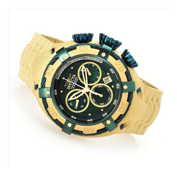 Relógio Original Invicta Masculino Ouro 18k Com Garantia