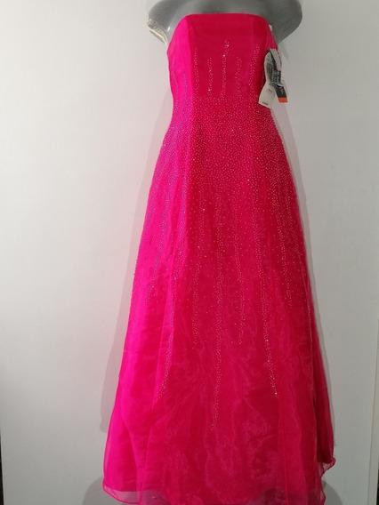 Vestido De Fiesta Morgan & Co Talla 5-6/s Dama Envío Gratis