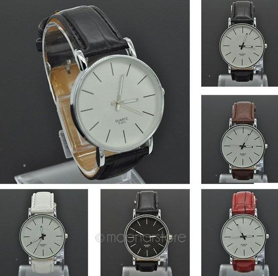 Relógio Masculino Quartz F-011 - Várias Cores - Frete Grátis