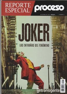 Joker El Guason Joaquin Phoenix - Revista Proceso Rep. Esp.