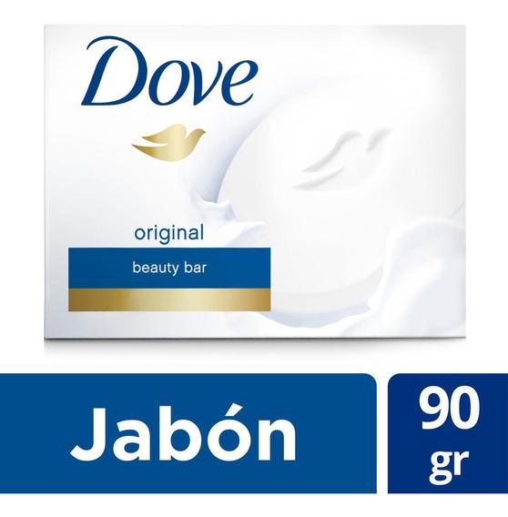 Jabón De Tocador Dove Original Individual 90gr