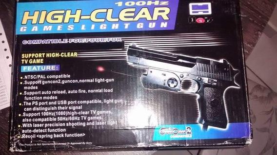 Vendo Pistola Ps1 Ps2 E Pc 200r$