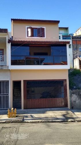 Sobrado Com 3 Dormitórios À Venda, 140m² Por R$ 430.000 - Parque Continental Ii - Guarulhos/sp - 18562