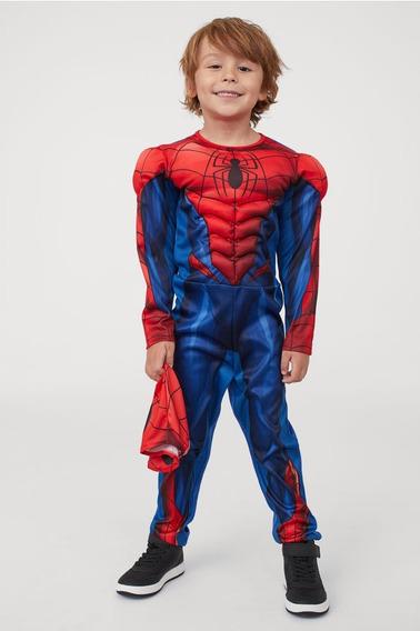 Disfraz Spider Con Músculos