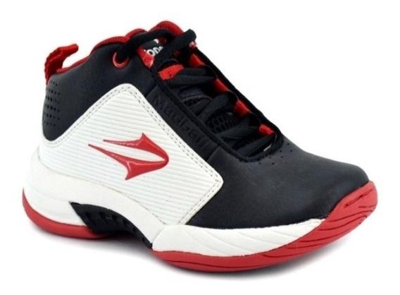 Zapatillas Topper Madball Iii Kids Blanco/negro/rojo
