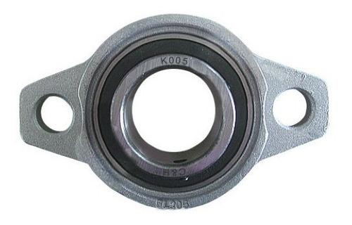 Imagem 1 de 5 de Kfl002 - Mancal Com Rolamento P Eixo Linear E Fusos  15mm