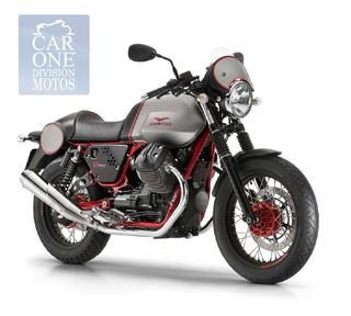 Moto Guzzi V7 Racer Serie 2 0 Km Car One Motos Super Outlet