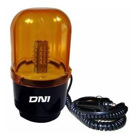 Dni4109 - Giroflex Sinalizador Visual 24 Leds, Âmbar 12/24v