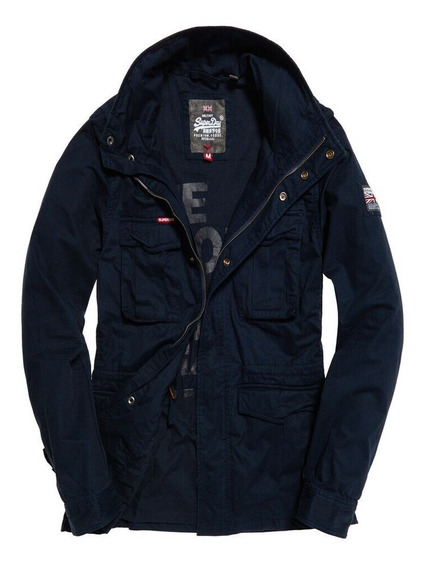 Chamarra Superdry Rookie Military Jacket Navy...
