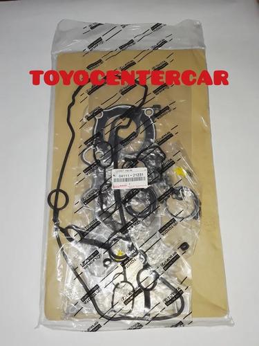 Kit Juego Empacadura Motor Yaris Belta 1.5 2006-2010