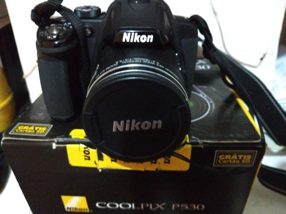 Câmera Semi-profissional Nikon P530 Coolpix .