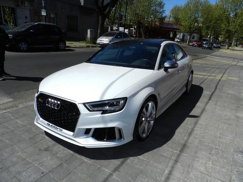 Audi Rs3 2.5 Sedan A/t - 2018 - Patentado 2019 - 160 Km