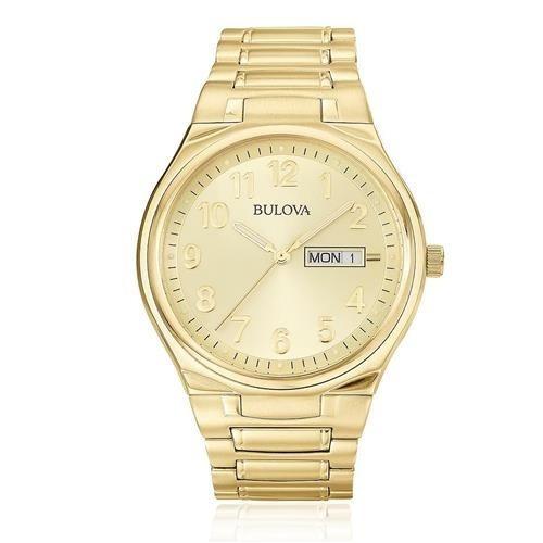 Relógio Bulova Wb21007g Aço Dourado